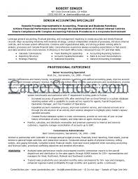 Chief Accountant Resume Sample Chief Accountant Cv Finance Manager Resume Example Template Examples 16