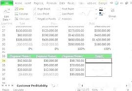 Product Profitability Analysis Excel Customer Analysis Template