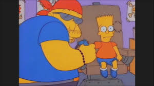 Bart Gets A Tattoo The Simpsons