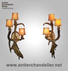 antler chandelier photo 6