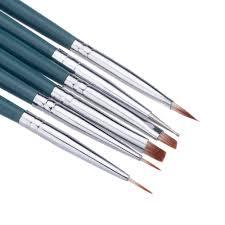 7pcs/Set DIY Professional Nail Art Brush Design Painting Tool Pen ...