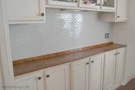 How To Remove Kitchen Tiles Diy Tile Backsplash For Rookies My Creative Days