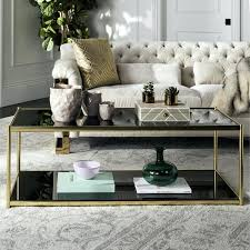 gold glass coffee table canada on free