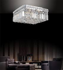 innovative square flush mount crystal chandelier brizzo lighting s 12 bossolo transitional crystal square