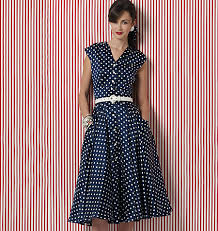 Vogue Dress Patterns Classy Vogue Dress 48 The Fold Line