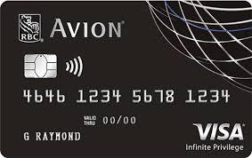 Rbc Avion Points Redemption Chart Enjoy Exclusive Travel Rewards With The Rbc Avion Visa Infinite Privilege Credit Card