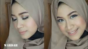 wardah one brand tutorial natural makeup wardah youniverse faithful trend makeup 2017