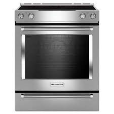 electric range with griddle. SlideIn Electric Range With SelfCleaning Convection Oven Griddle