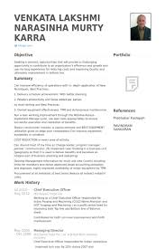 Top 8 Chief Operating Officer Resume Samples 1 638 Cb= Collection Of ...