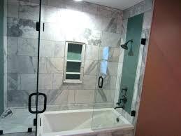 standard shower enclosures ovation excellent curved glass bathtub doors saver tub door height enclosu