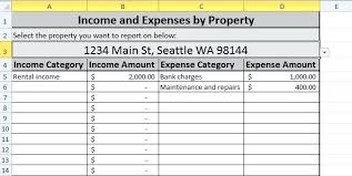 Investment Property Spreadsheet Template Inspirational Roi Analysis ...