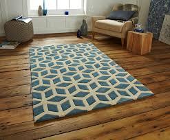 diy modern rug flooring