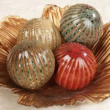 Decorative Balls For Bowls Decorating Wonderful And Decorative Orbs For Home Especially For 12