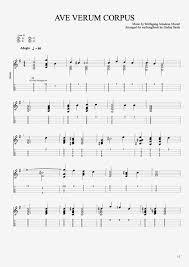 ave verum corpus sheet music ave verum corpus by wolfgang amadeus mozart solo ukulele guitar