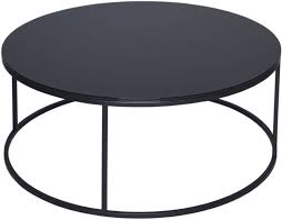 westminster black glass round coffee table with black base cfs uk