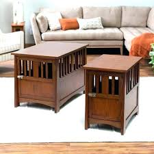 crate furniture diy. Dog Crate Furniture Diy Pet End Table Mission Style Wooden Medium .