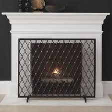 free standing glass fireplace screen aytsaid com amazing home ideas within decorations 1