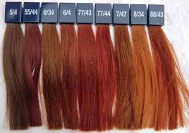 Wella Vibrant Reds Colour Chart Pin By Natalie C Foster On Wella Hair Color In 2019