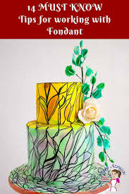 14 Tips For Working With Fondant Tips And Tricks Veena