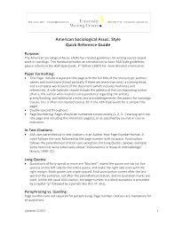 006 Asa Format Research Paper Example Writing Style Museumlegs