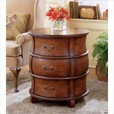 awesome round end tables with storage decor barrels round end table with drawer plan