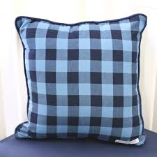 simple brice s navy buffalo check perless crib bedding buffalo plaid crib sheet