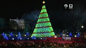 President Obama At National Christmas Tree Lightning