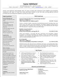 resume smart crew supervisor resume example construction job smart crew supervisor resume example construction job position profile also work experience