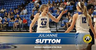 Julianne Sutton Voted Einstein's Nighthawk of the Week - University of  North Georgia Athletics