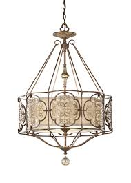 surprising large foyer chandeliers contemporary brown iron with round white lamp cover inside7 home design chandelier