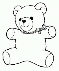 Small Picture Freddy the Teddy Bear Coloring Page Color Luna