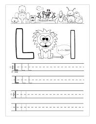 preschool letter l worksheets