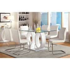 7 piece black dining room set. Furniture Of America Damore Contemporary 7 Piece High Gloss Dining Table Set - White | Hayneedle Black Room