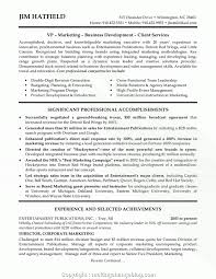 Achievements On A Resumes Professional Marketing Achievements Examples Marketing Achievements