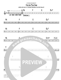 Chord Charts For Kids Youre The One Chords Hillsong Kids Praisecharts