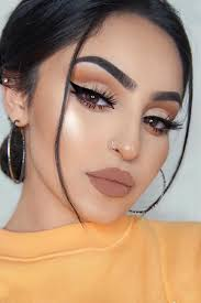 cute simple cat eye makeup saubhaya