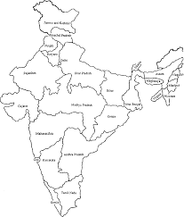 India Map More Places In 2019 India Map Map Outline Map