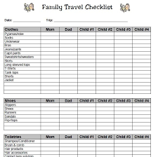 Easy Organized Packing For Kids Plus Family Travel Checklist