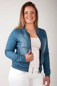 Standards & Practices - Plus Size Women's Nanci Chambray Light ... & Standards & Practices Contemporary Fashion Plus Size Women Chambray Bomber  Jacket Adamdwight.com