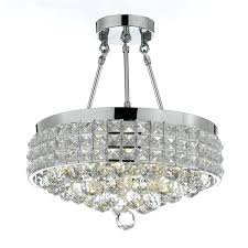 french empire crystal chandelier semi flush mount crystal chandeliers 4 light