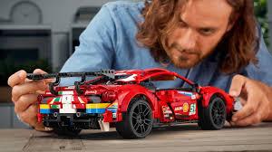 Find deals on lego ferrari 488 in building blocks on amazon. Ferrari 488 Gte Gets 1 677 Piece Lego Technic Treatment