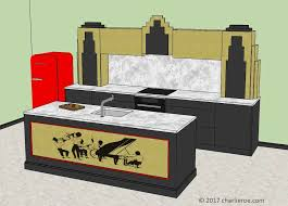 art moderne furniture. Art Moderne Furniture. Kitchen Designs, New Deco Stepped Skyscraper Style Fitted Furniture With