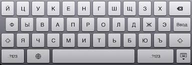 It might not be ideal, but it will do in a pinch. Ipad And Russian Keyboard Vadim S Weblog
