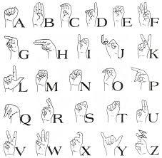Sign Language Images Printable Sign Language Alphabet