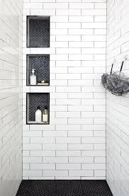Black And White Shower Tile Designs Polc 28 Inspirational Walk In Shower Tile Ideas For A Joyful