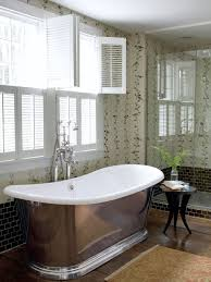 country bathroom design ideas. Brilliant Bathroom Custom Wallpaper Bathroom Design Ideas With Luxury Tubs Models And Crome  Faucets Sets For Modern Country Throughout Country Bathroom Design Ideas T