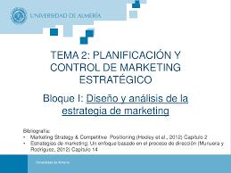 Planificacion De Marketing Planificacion Apuntes De Marketing Docsity