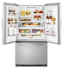 kitchenaid refrigerator french door. amazon.com: kitchenaid kbfs25ewms architect series ii 24.8 cu. ft. french door refrigerator - stainless steel: appliances kitchenaid