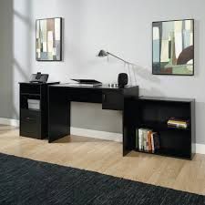 small home office furniture sets. Image Of: Elegant Home Office Desk With Black Color Small Furniture Sets