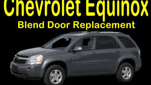 How to 2005 to 2009 Chevrolet Equinox Blend Door Replacement and ...